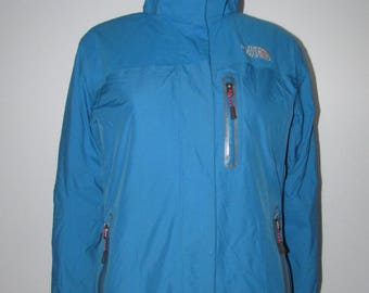 The North Face blue summit series  removable hood  Jacket womens size tag small