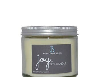 Joy - Hand Poured Soy Candle