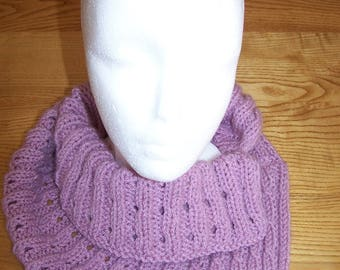 light purple hand knitted fashion shoulders