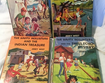 Happy Hollisters Group of Four Vintage Children's Books