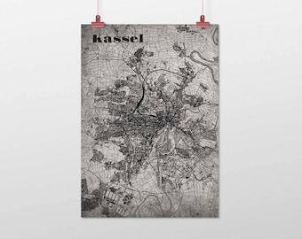 Kassel - A4 / A3 - print - OldSchool