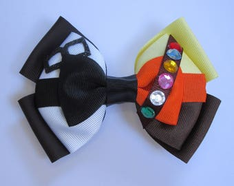 Up Carl and Russell Inspired Combination Disney Hair Bow