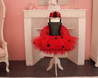 Ladybug tutu dress Tutu
