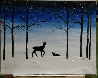 "Painting: ""My deer"""