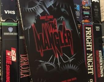 The Mangler (1995) HORROR VHS Stephen King