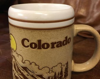 Vintage Colorado Coffee Mug