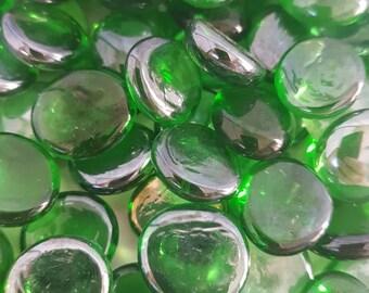 20 x Glass Stones (choose your colour)