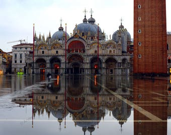 St Marks Reflected