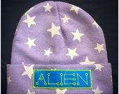 aLiEn glow star  beanie