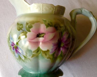 Poppy water pitcher