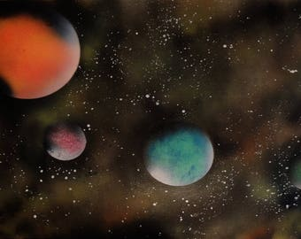 Space Painting 18x24