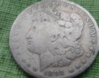 1891 O Morgan Silver  dollar  FEBRUARY SPECIAL  #F958B