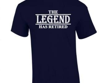 Buddstar Men's The Legend Has Retired T-Shirt