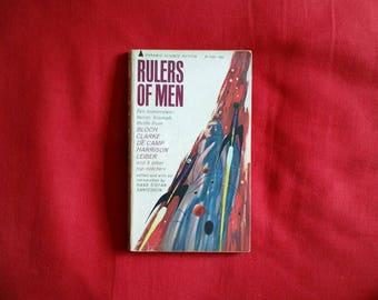 Hans Stefan Santesson (ed) - Rulers of Men (Pyramid Science Fiction 1965) - robert bloch, fritz leiber, arthur c clarke, harry harrison