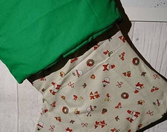 Beautiful handmade Christmas stocking fully lined and padded