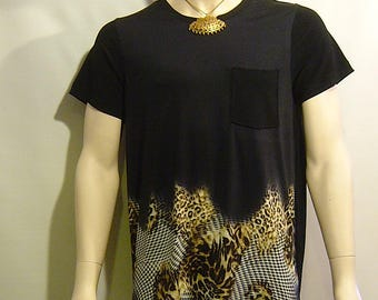 Mens fashionable knit T Shirt