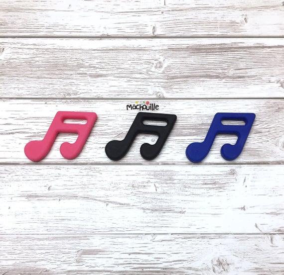 Note de musique à mâchouiller