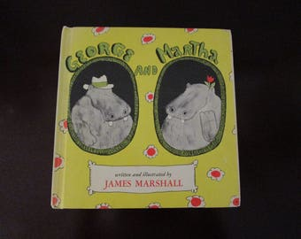 Vintage George and Martha Book / 1972 by James Marshall