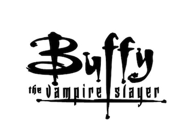 Buffy the Vampire Slayer vinyl decal sticker