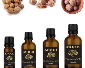 Nutmeg essential oil natural aromatherapy essential oils