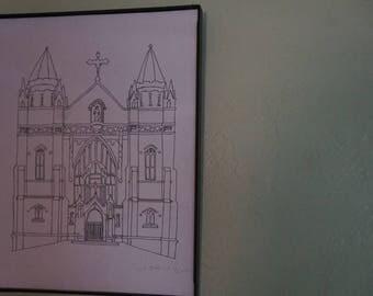 St Josephs Chapel Drawing
