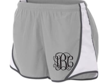 Monogrammed Athletic Running Shorts Embroidered