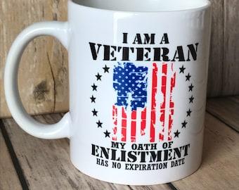 Veteran Oath Mug