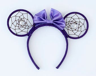 Purple Dreamcatcher Minnie Mouse Ears