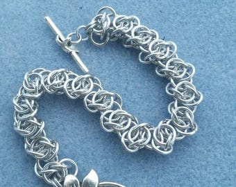 Chainmaille Bracelet Scary Weave