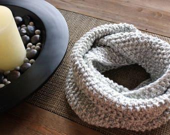 scarf knit infinity / infinity scarf / knit scarf / chunky infinity scarf / oversized scarf / knitted infinity scarf / chunky cowl