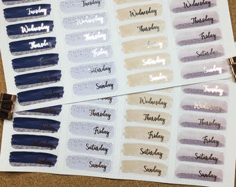 Foiled Day Cover Ups | Storm | Plum | Fire | Teal | Blush | Coral | Blue | Grey | Brush Strokes | Gold | Silver | Rose Gold