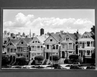 "Fine Art Photography ""Alamo Square"" Archival Print"