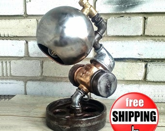 Industrial style Etsy gifts Industrial style lighting for Home Vintage style lighting Vintage industrial Style lighting Industrial pipe lamp