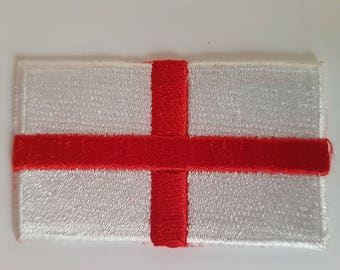 England St Georges Cross Brand New Iron on Sew on Patch transfer
