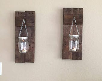 Adorable Rustic Candle Holders