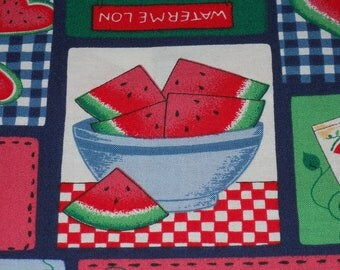 Watermelon Patch With Yummy Baskets of Sliced Watermelon