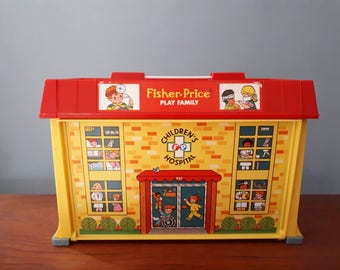 Vintage Fisher Price Play Hospital 931