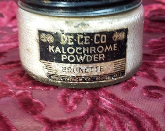 dodge chemical company mortician brunette  Kalochrome powder funeral preparation