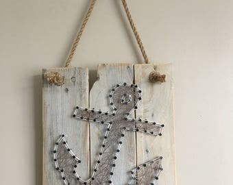Anchor String Art, Persnoalised, Handmade