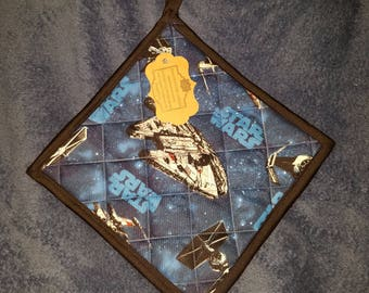 Star Wars Millenium Falcon Kitchen Pot Holder (Hot Pad)