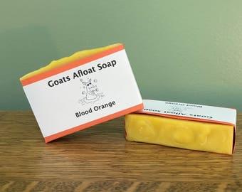 Blood Orange Goat Milk Soap
