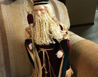 "18"" St Nickolas style Santa"