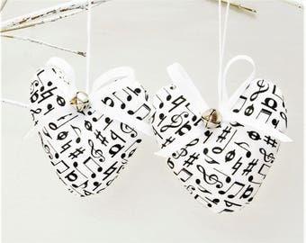 Music Lover Gift for Musician Christmas Ornaments Gift for Her - Music Christmas Ornaments Musician Christmas Gift