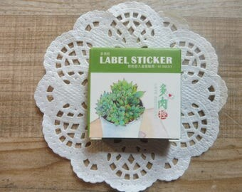 Stickers 40 pezzi/pieces set with assorted designs vintage style