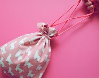 Camera Bag / Cosmetic Bag - Alpaca
