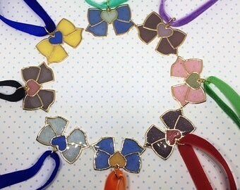 Super Sailor Scout Inspired Choker | Sailor Moon Choker | Anime Choker | Sailor Bow Choker |