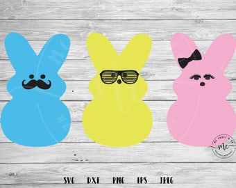 Chillin with my Peeps SVG, Peeps svg, Easter, Cut file, Easter SVG,Peeps, Bunny svg, Cricut, Silhouette, Cut Files, svg, dxf, png, eps, jpeg