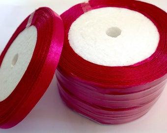 Roll of 22.5m of stin ribbon single face, mauve no29