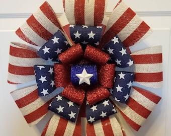4th of July wreath/door wreath/summer wreath/front door wreath/spring wreath/ memorial day wreath/ independence day wreath