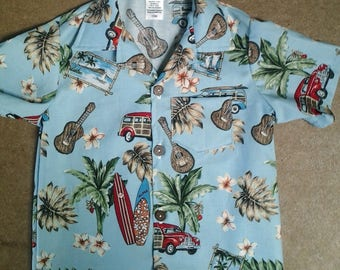 Hawaiian shirt For Baby and Youths, kids Hawaiian shirt, Matching father son shirts